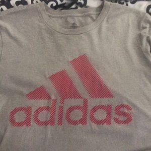 Men's Adidas shirt.